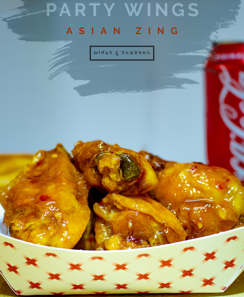 Asian Zing Party Wings